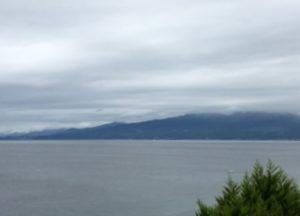 20170817曇り空と海