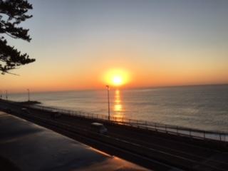 20171129日の出太陽